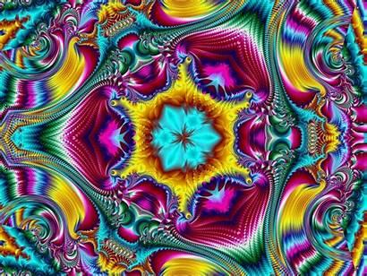 Fractal Abstract Desktop Backgrounds Rainbow Fractals Artwork