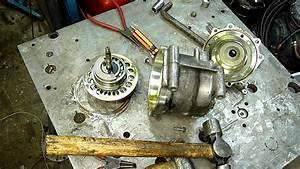 Sanden Trs105-3207 Auto Scroll Ac Compressor Autopsy