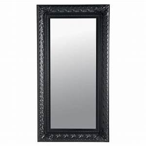 Miroir Baroque Noir : miroir marquise noir 95x180 maisons du monde ~ Teatrodelosmanantiales.com Idées de Décoration