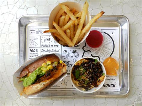 by new york vegan restaurant