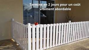 Cloture Pas Cher : cloturer sa terrasse facile rapide et pas cher youtube ~ Melissatoandfro.com Idées de Décoration