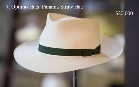 top   expensive hats