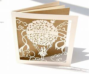laser cutting how we achieve that paper cut look With paper cut wedding invitations uk