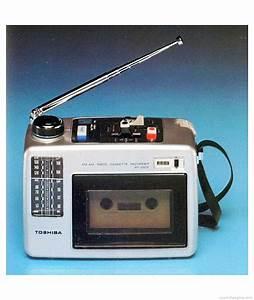 Toshiba Rt-550 - Manual  Fm Radio Cassette Recorder