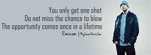 Eminem Quote Facebook Timeline Cover - Facebook Timeline Cover