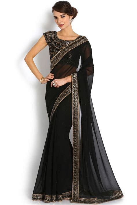 And Gold Sari 25 best ideas about black saree on saree