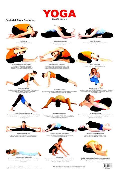 beginner yoga poses chart work  picture media work