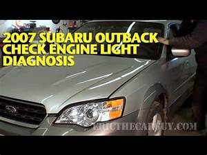 Cruise Light Subaru Outback 2007 Subaru Check Engine Light Diagnosis Ericthecarguy