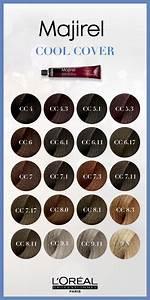 Majirel Ash Colour Chart Majirel Cool Cover Gives Cool Hair Color This Is A