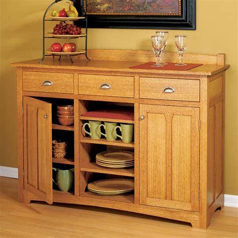 traditional sideboard woodworking plan  wood magazine