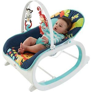Infant To Toddler Rocker Baby Bouncer Rocking Vibrating