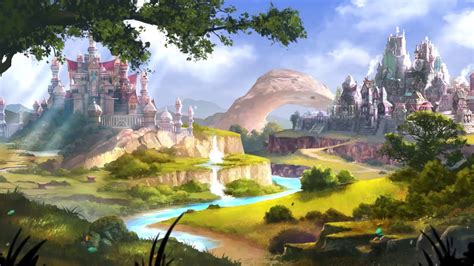Animated Landscape Wallpaper - elvenar landscape animated wallpaper wallpaper engine