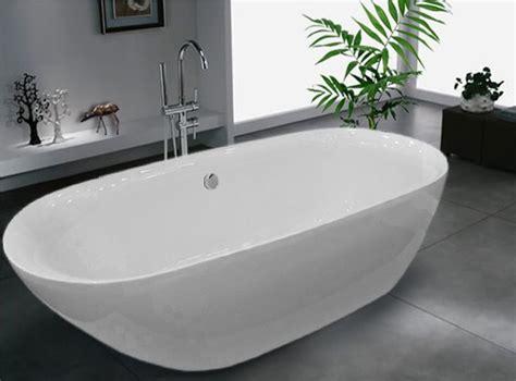 freistehende acryl badewanne freistehende badewanne acrylbadewanne freistehend bernstein badshop
