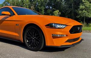 2018 Ford Mustang GT Orange 9 copy