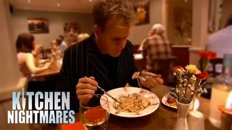 Kitchen Nightmares On by Gordon Waits 40 Minutes For Food Kitchen Nightmares