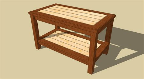 Free Easy Coffee Table Plans Pdf Woodworking