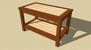 Free easy coffee table plans pdf woodworking for Easy to build coffee table