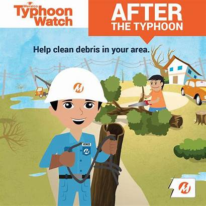 Safety Typhoon Tips Meralco Typh