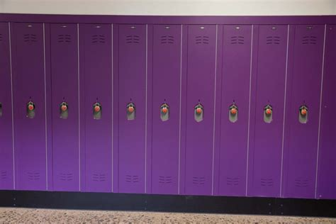 duralife lockers  danville middle school scranton products