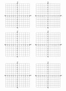 Charts For Math Coordinate Grids And Notebook Math
