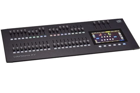 Etc Lighting Console by Etc Colorsource 40 Lighting Console Tj Lighting Solutions