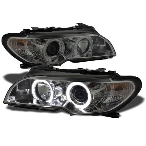 bmw halo lights 04 06 bmw 3 series e46 2 door coupe eye halo