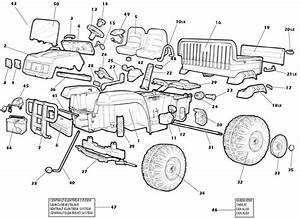 Peg Perego John Deere Gator  Revised  Parts