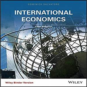International Economics 12th Edition By Salvatore Solution
