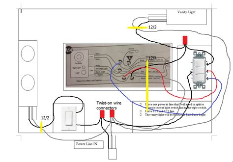 Wiring How Wire Challenging Bath Situation Home