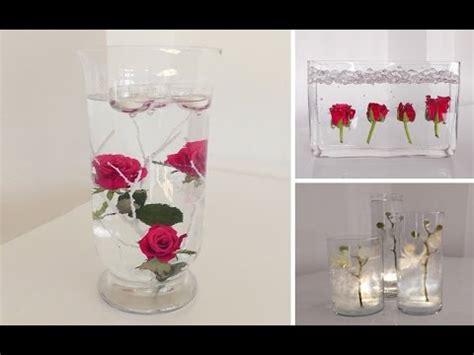 Blumen Hochzeit Dekorationsideenblumen Im Wasser Hochzeit Deko by Diy Centerpiece F 252 R Tisch Deko Unterwasser Blumen