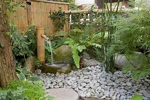 Fontaine Exterieur Zen : fontaine galet exterieur fontaine developpement ~ Nature-et-papiers.com Idées de Décoration