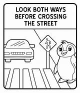 Coloring Signs Traffic Road Pages Street Sign Safety Crossing Encouraging Responsibly Move Coloringpagesfortoddlers Community Activity Among Activities sketch template