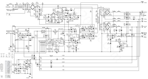 Component Power Supply Circuit The Old For