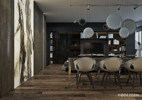 A And Calming Bachelor Pad With Wood And Concrete by A And Calming Bachelor Bad With Wood And Concrete