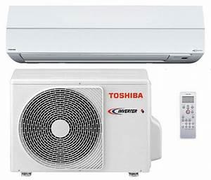Prix Clim Reversible Pour 50m2 : climatisation toshiba pompe chaleur toshiba mono split ~ Edinachiropracticcenter.com Idées de Décoration