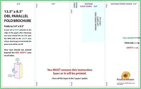 4 Panel Brochure Template Word How To Change The Publisher 4 Panel Template Bestuniversities Info