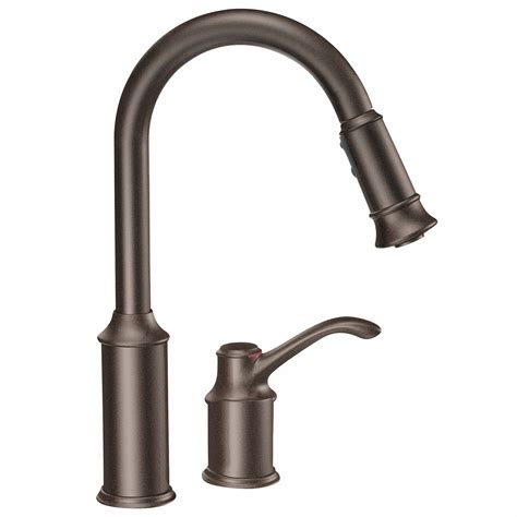 kitchen faucet with separate handle build ca home improvement products no duties or brokerage fees moen 7590orb aberdeen mini