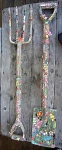 Mosaik Selber Machen : mosaik basteln stein mosaik im garten garten gestalten ~ Lizthompson.info Haus und Dekorationen
