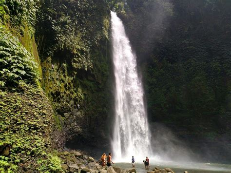 Nungnung Waterfall Bali Hike Entrance Fee And Swimming