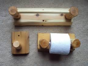 rustic bathroom set towel bar toilet paper holder towel