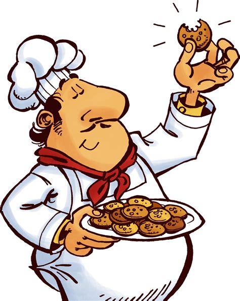 chef cuisiner cuisinier et cookies by oclero on deviantart