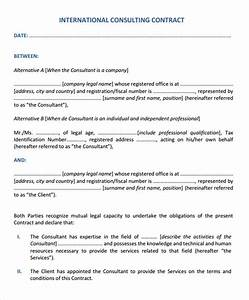 it consulting agreement template 28 images consulting With it consulting contract template