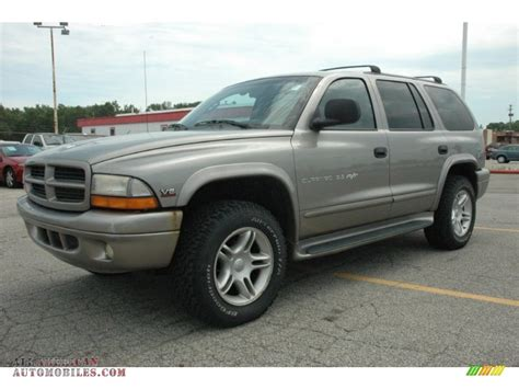 durango jeep 2000 2000 dodge durango slt 4x4 in bright platinum metallic