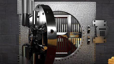 Bank Vault Full Of Money  Hd & 4k Stock Footage #000588623
