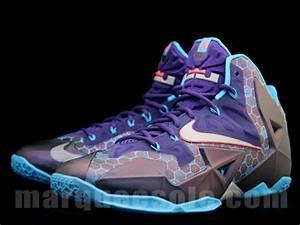 Nike LeBron 11 - Court Purple/Reflective Silver-Vivid Blue ...