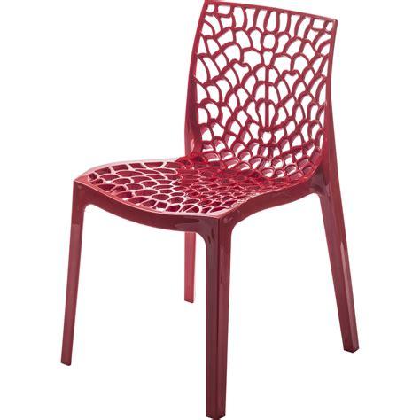 chaise de jardin grise chaise de jardin en résine grafik leroy merlin