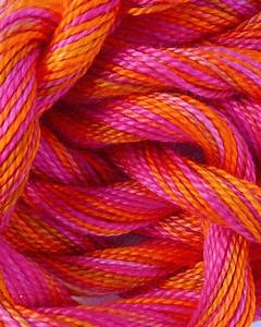 Perle Cotton Yarns in our Personality Pink color palette ...