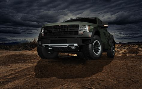 Black Ford Wallpaper HD