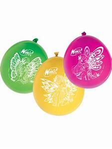 Winx Club Kostüm : 12 winx club luftballons partydeko und g nstige faschingskost me vegaoo ~ Frokenaadalensverden.com Haus und Dekorationen