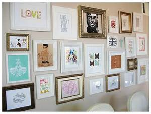 Wall decor and photo frames : Diy bedroom wall art ideas girl